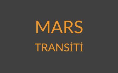 6.05 – MARS TRANSİTİ