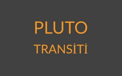 6.10 – PLUTO TRANSİTİ
