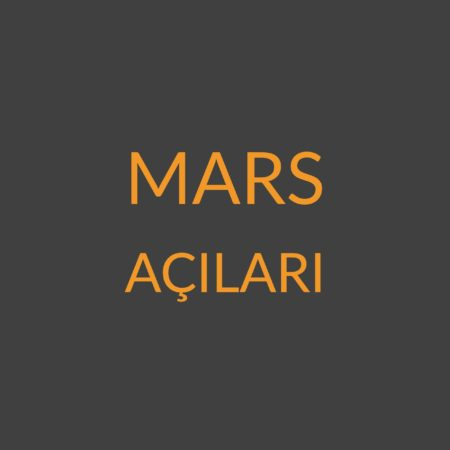 3.06 – Mars Açıları