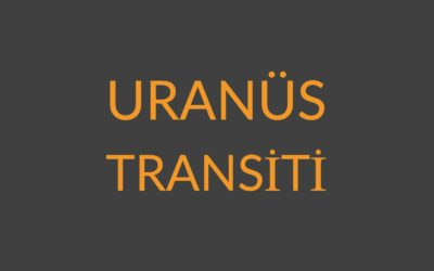 6.08 – URANÜS TRANSİTİ